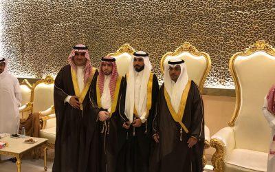 """""""البشري"""" يحتفل بزواجه على كريمة الشيخ سعود"""