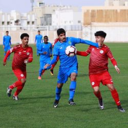 4 انتصارات في الجولة 12 من دوري الدرجة الأولى للشباب