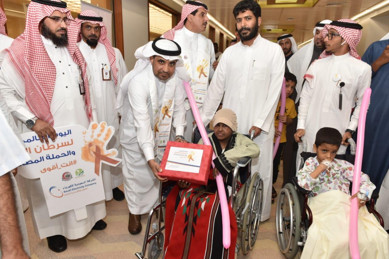 """""""السعودية للكهرباء"""" تدعم الأطفال لهزيمة السرطان"""