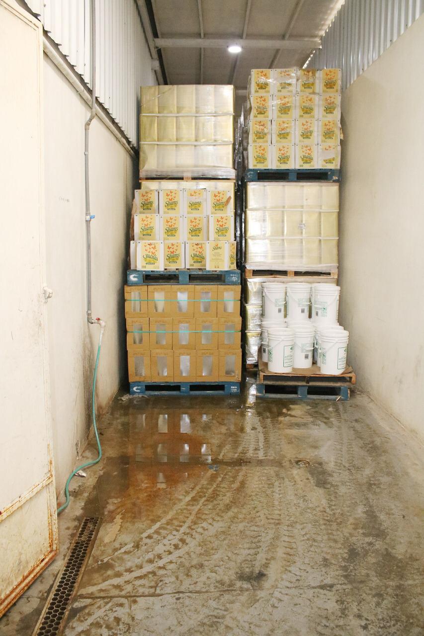 سحب أكثر من 91600 ألف متر مكعب من مياه الأمطار في الخفجي