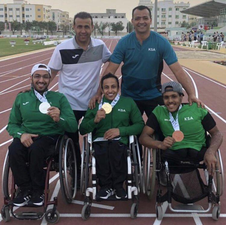 المملكة تحصد 6 ميداليات في دورة الألعاب العالمية لذوي الإعاقة الحركية والبتر بالشارقة