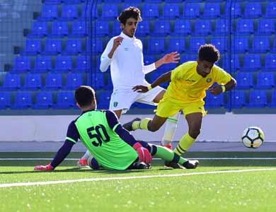 3 انتصارات و 3 تعادلات في ختام الجولة 17 من الدوري الممتاز للشباب