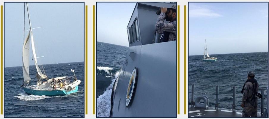 عمليات إنقاذ ناجحة لبحار فرنسي من المياه الدولية بالبحر الأحمر على قارب شراعي