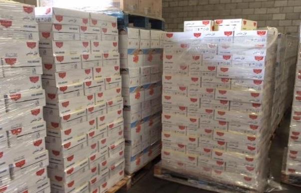 ضبط 160 ألف منتج غذائي مقلد لعلامة تجارية مشهورة فى جدة