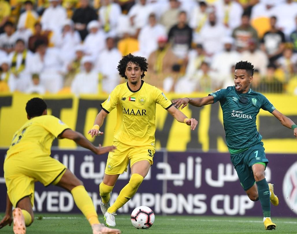 الأهلى يتعادل مع الوصل الإماراتى في ذهاب ربع نهائي بطولة كأس زايد للأندية
