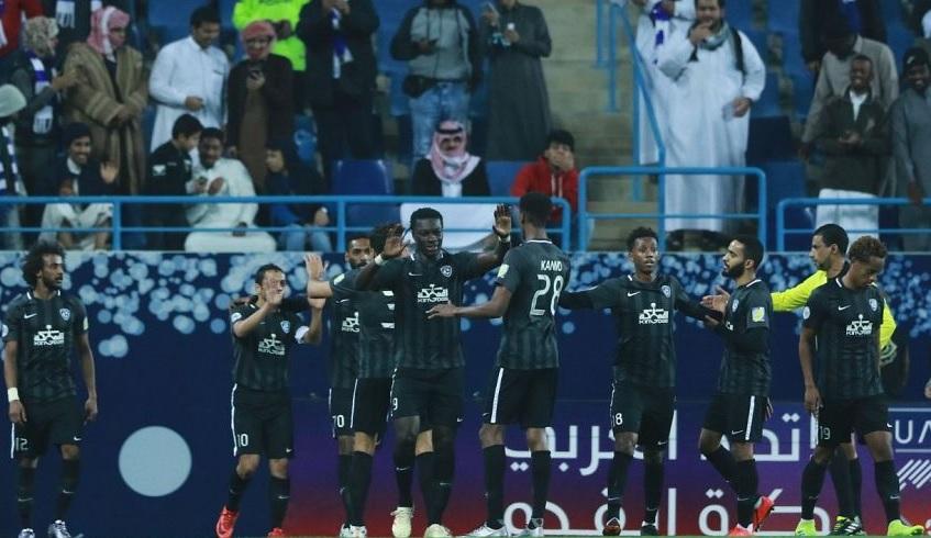 الهلال يتغلب على الاتحاد السكندري المصرى فى بطولة كأس زايد للأندية