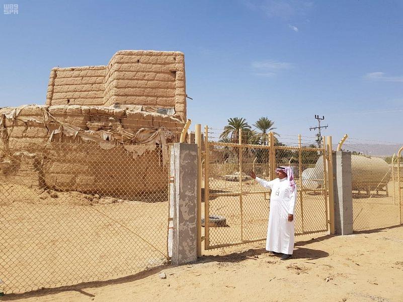 تسوير وصيانة 27 موقعاً أثرياً وتراثياً بنجران