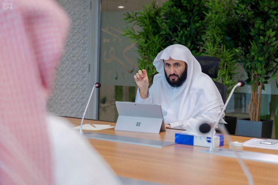 وزير العدل يدشن نظام إدارة المشاريع الإلكتروني وأتمتة الإجراءات
