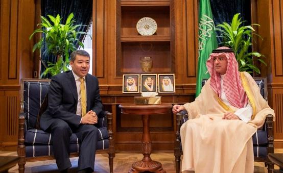 الجبير يستقبل سفراء الأردن وزامبيا وكازاخستان لدى المملكة