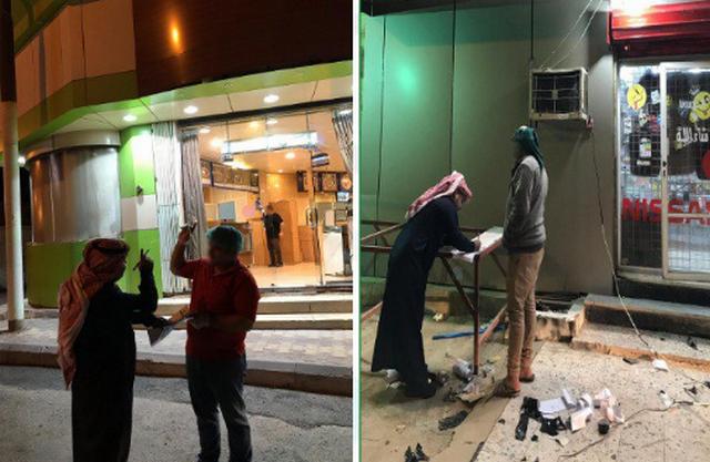 بلدية طريف تواصل جولاتها الرقابية وتضبط مطعماً مخالفًا