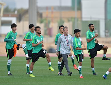 المنتخب الوطني تحت 23 عامًا يواجه نظيره الإماراتي غدًا