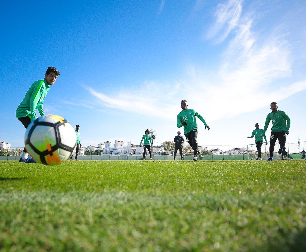 المنتخب الوطني تحت 20 عامًا يواصل تدريباته بمعسكره في إسبانيا