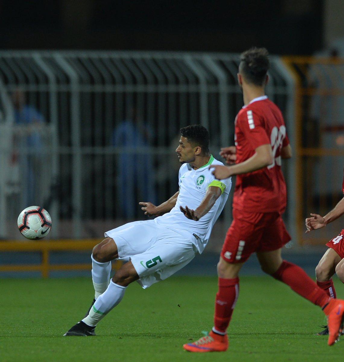 الأخضر يتغلب على لبنان بهدفين نظيفين ضمن الجولة الثانية من التصفيات الآسيوية
