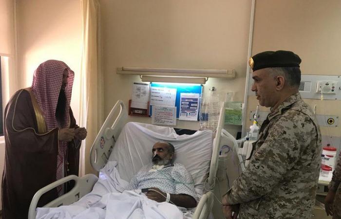 الشيخ المري يزور مصابي الحد الجنوبي