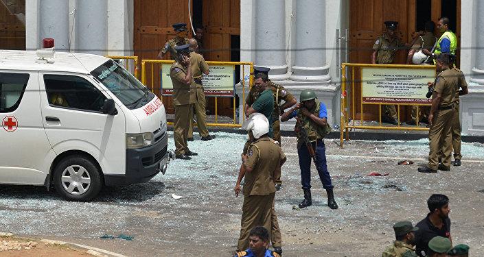 الشرطة السريلانكية تعلن ارتفاع عدد ضحايا التفجيرات إلى 290 شخصا