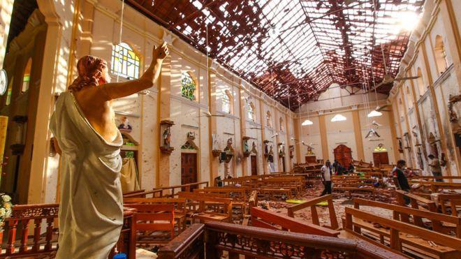 داعش يعلن مسؤوليته عن تفجيرات سريلانكا