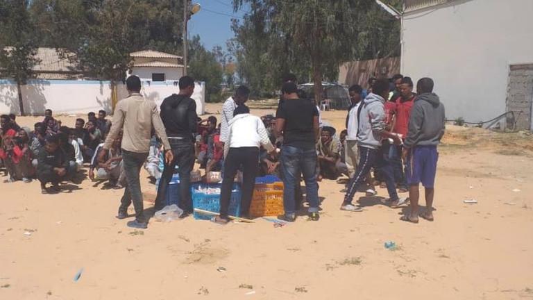 إطلاق نار عشوائى على عدد من المهاجرين فى طرابلس