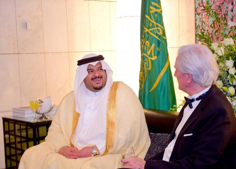 أمير منطقة الرياض بالنيابة يشرف حفل سفارة جمهورية فرنسا ...